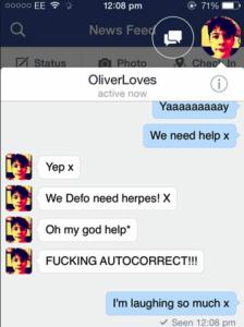autocorrect fails-herpes