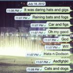 autocorrect fails raining