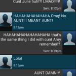autocorrect fail aunt